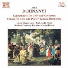 Dohnanyi / Sonata for cello and piano