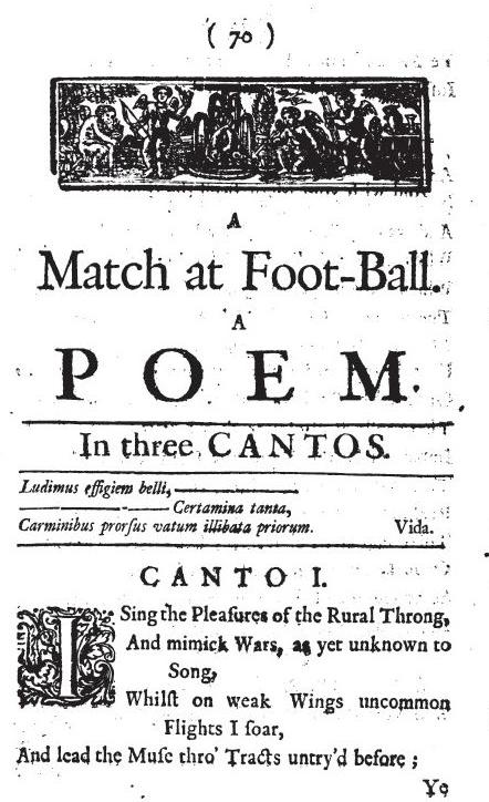 A Match at Football