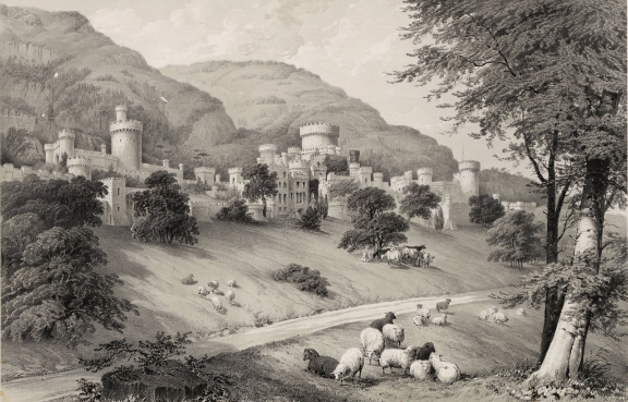 Gwrych_Castle,_Denbighshire;_The_Seat_of_Lloyd_Hesketh,_Bamford_Hes