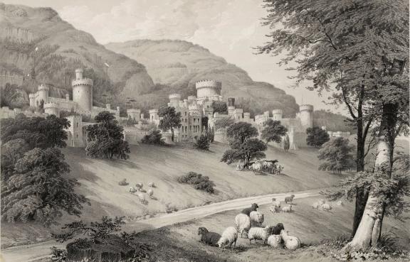 Gwrych_Castle,_Denbighshire;_The_Seat_of_Lloyd_Hesketh,_Bamford_Hes