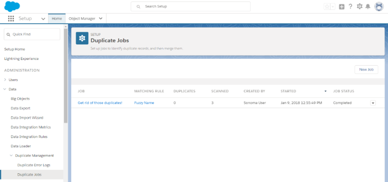 Salesforce Duplicate More Jobs