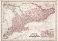 Johnson's Ontario of the Dominion of Canada, 1867