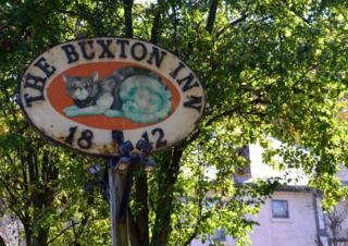 The historic Buxton Inn