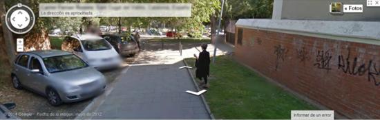 Paloma G. Díaz en Google Street View