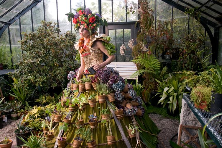 Nicole Dextras Mobile Garden Dress
