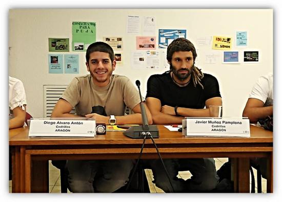 Diego Alvaro y Javier Muñoz