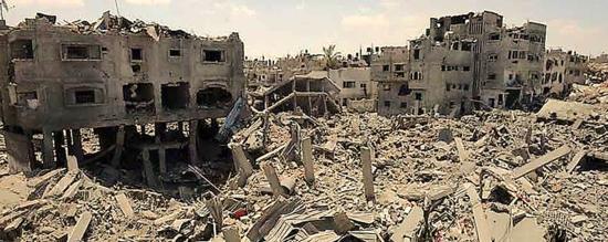 Foto de la UNRWA: La falta de fondos obliga a la UNRWA a suspender la asistencia  para la reparación de viviendas en Gaza