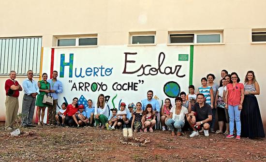 I Feria Ambiental organizada en el curso 2013/14 en el CEIP Rafael Alberti de la localidad de Arroyo Coche