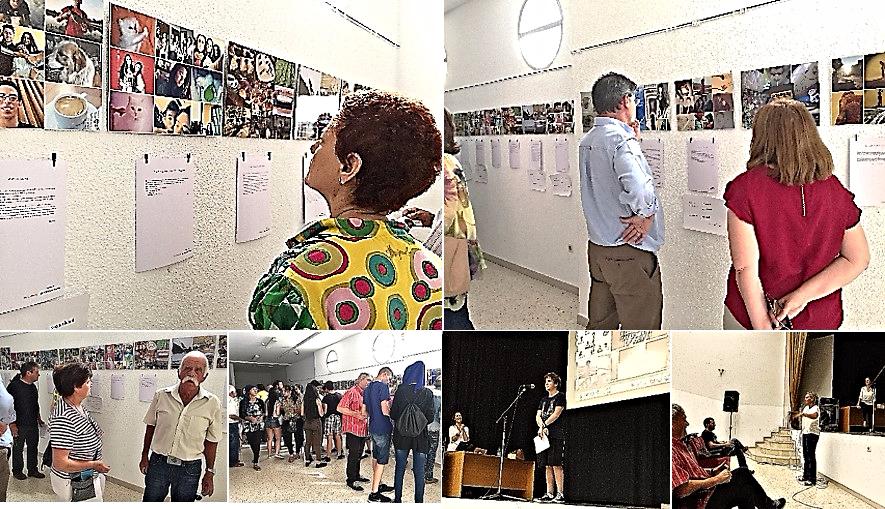 La exposición colectiva de trabajos se pudo presentar en la Casa de la Cultura