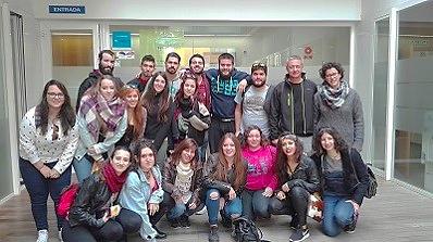 Jóvenes de Madrid conocen la realidad social de Málaga