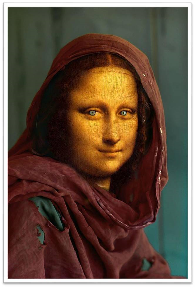 """Mona Lisa afgana"" Ana Parra Fenoy. Visitar su portfolio"