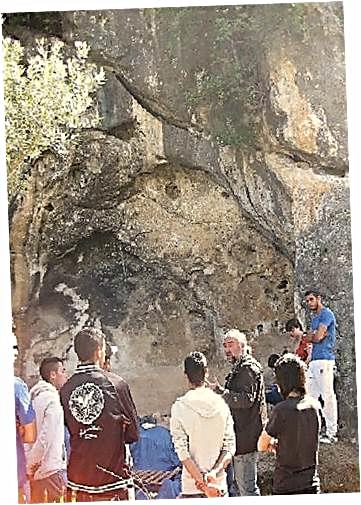 Yacimiento Paleolítico de la Graiera