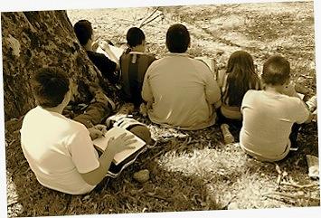 Estudiantes del Tercer Ciclo de Educación Primaria del Colegio 'Rafael Alberti'