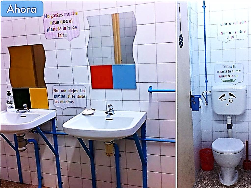 """Los baños de nuestro """"cole"""" han cambiado, Periodista: Laura Ruiz Camero, Periódico """"La Biznaga"""""""
