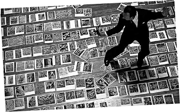 André Malraux en el Museo Imaginario. 1947 | BLOUIN ARTINFO