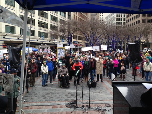 Washington fast track rally