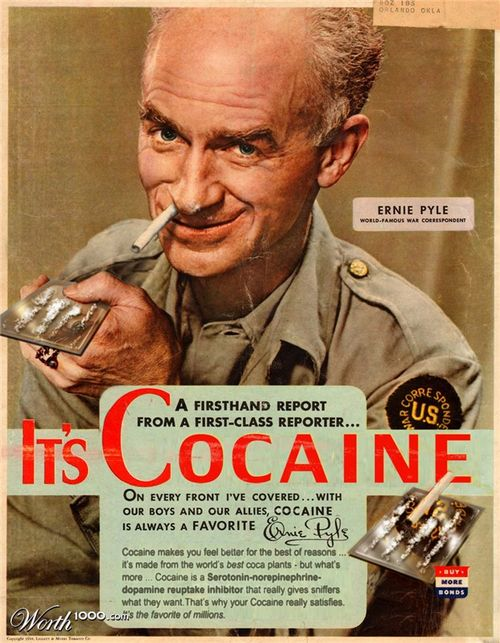 Retail Hell Underground: Vintage Ads: Cocaine For Everybody!