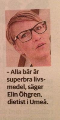 I VK om bär- med Elin från dietistbloggen