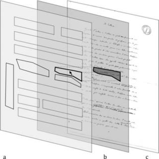 Visualising manuscript regions to enable linking to transcriptions