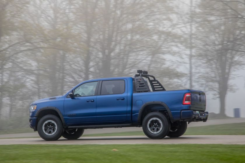 Can You Build A Better Ram 1500 Rebel Out Of Mopar Accessory Parts Pickuptrucks Com News