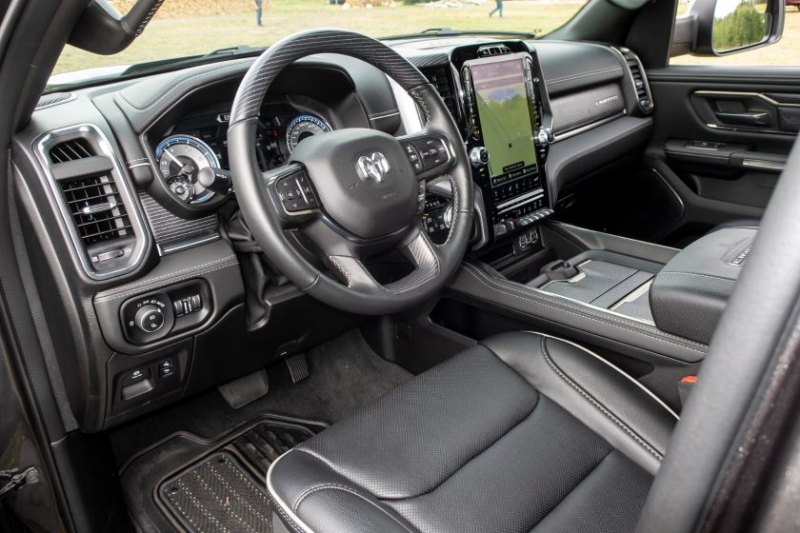 2020 Ram 1500 EcoDiesel Front Cabin