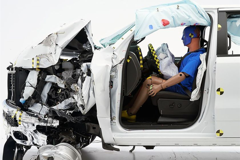Ram 1500 Crew Cab Front Crash Test