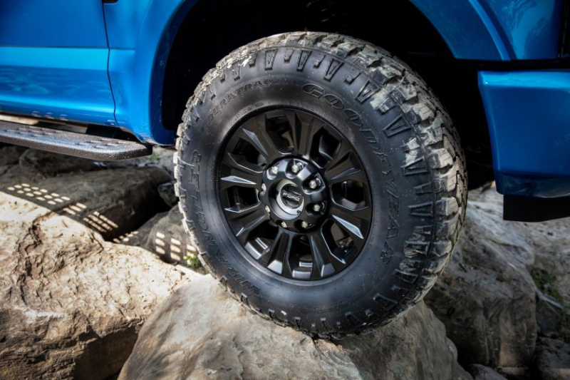 2020 Ford Super Duty Tremor Tires