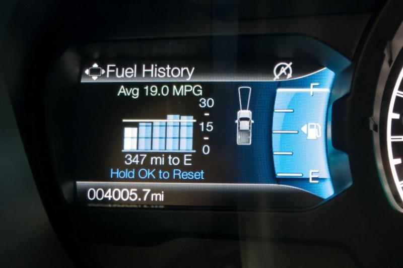 2019 Ford Ranger Lariat Instrument Panel