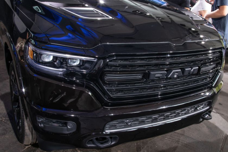 2020 Ram 1500 Limited Black Edition Grille