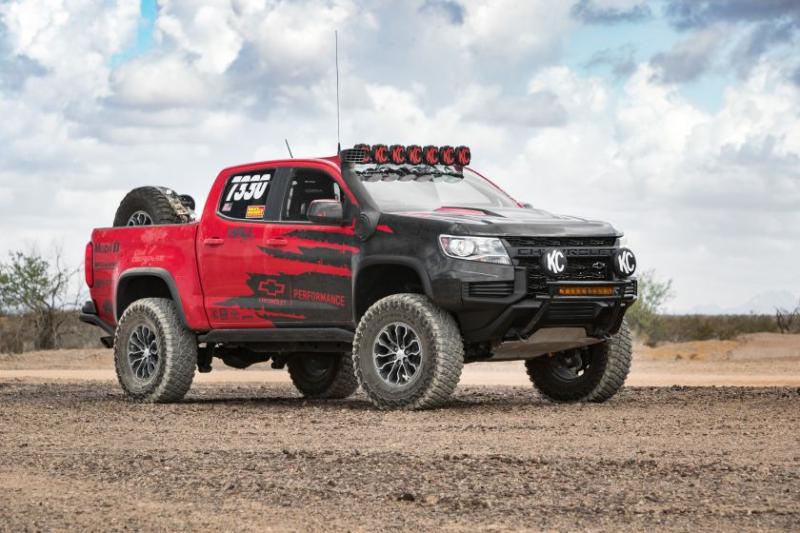 2021 Chevrolet Colorado ZR2 Front Profile