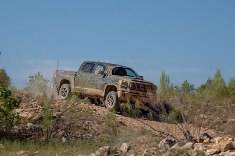 2020 Toyota Tundra TRD Pro Descending Hill