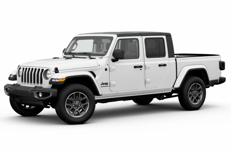 2020 Jeep Gladiator Altitude Side Profile
