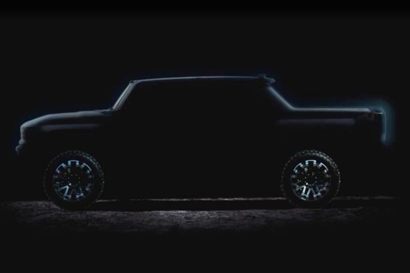 Gmc Hummer Ev Truck Set For Fall 2020 Reveal Hummer Suv Also