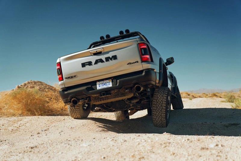 2021 Ram 1500 TRX Rear Profile