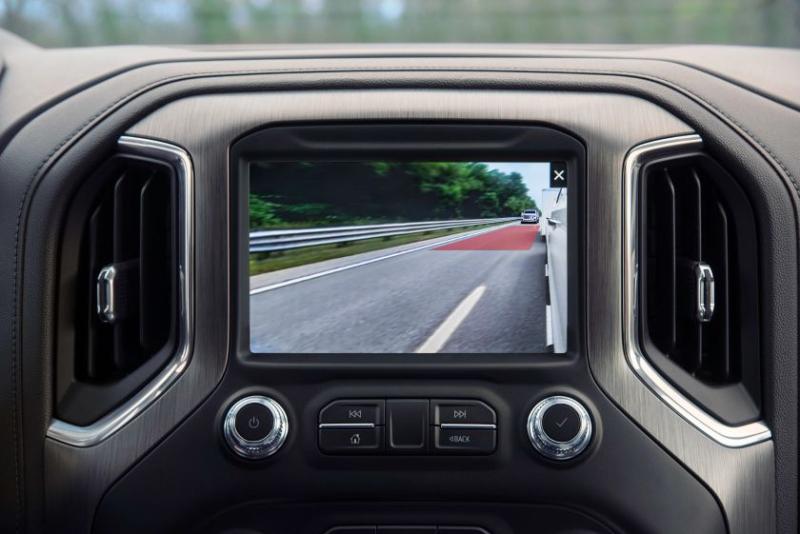 2021 GMC Sierra Rear Side View