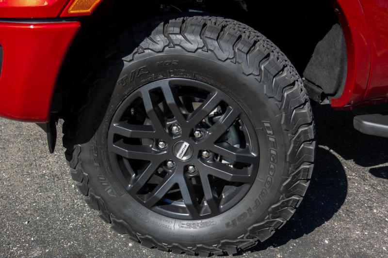2020 Ford Ranger Performance Pack Level 2 BFGoodrich KO2 Tires