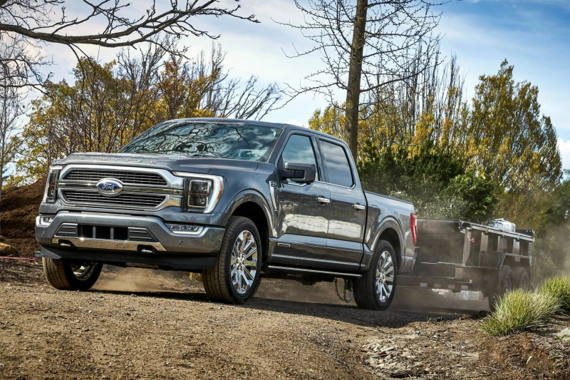2021 Ford F-150 Towing Trailer