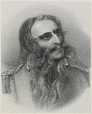 Sir Charles James Napier. By Richard James Lane, after Comte Hippolyte Caïs de Pierlas. Lithograph, 1849. 203 by 163 mm (National Portrait Gallery NPG D21721)