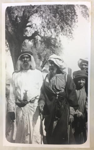 Sultan ad-Damaki of Gatarah [?] (Left)