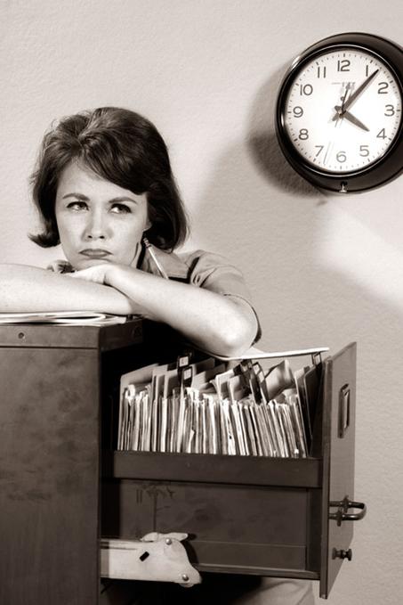 El trabajo espera al procrastinador