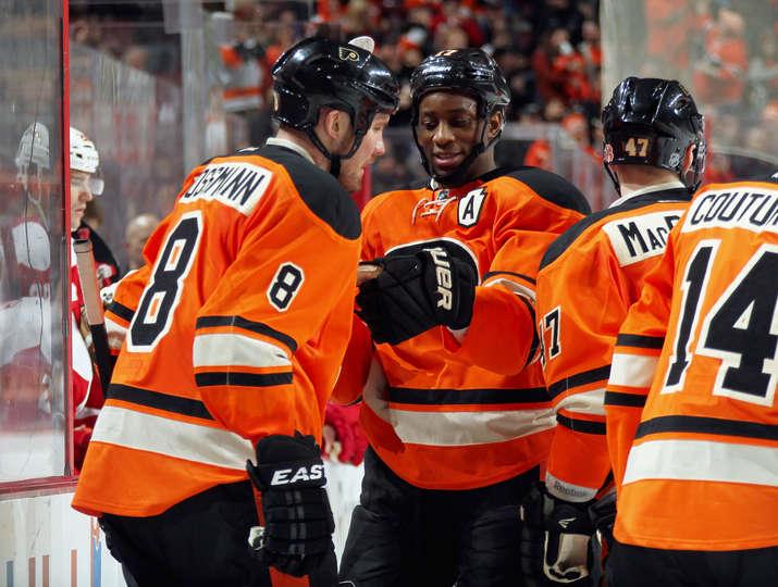 Flyers Beat Wings