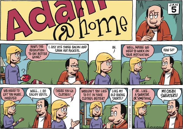 Adam@Home by Rob Harrell