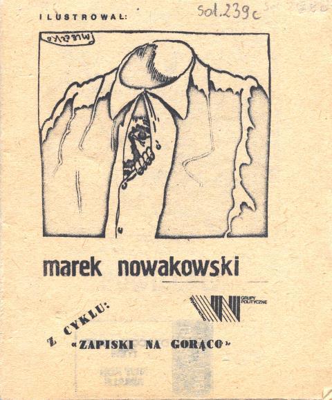 Solidarity Marek Nowakowski  Sol.239c