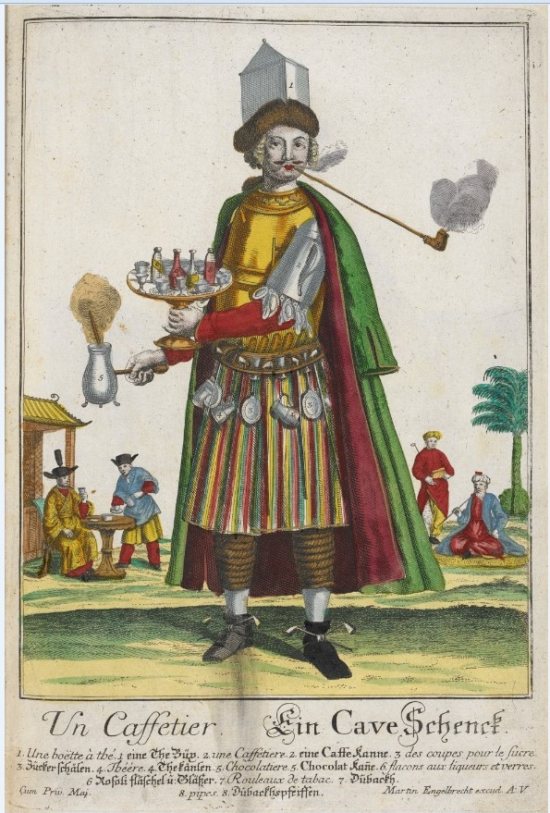 Coffee-seller 1266.i.15