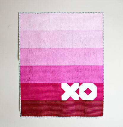 XO Quilt by Canoe Ridge Creations