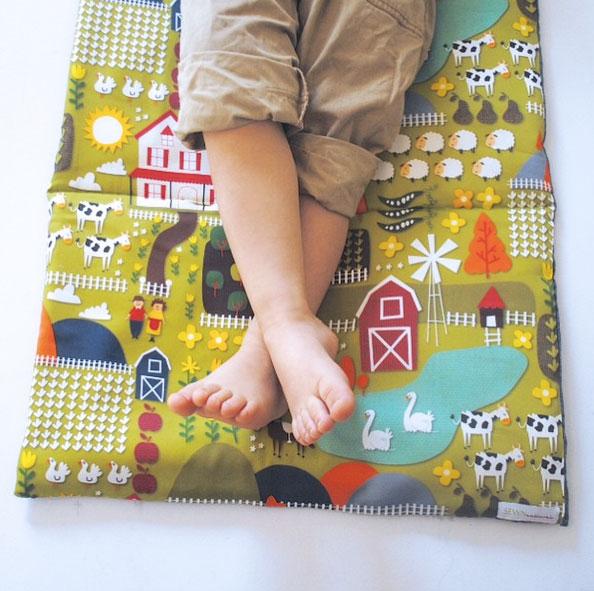 Farm Fabric Nap Mat
