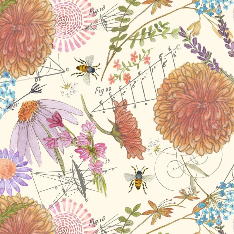 Botanical Sketchbook by Jennifer Geldard
