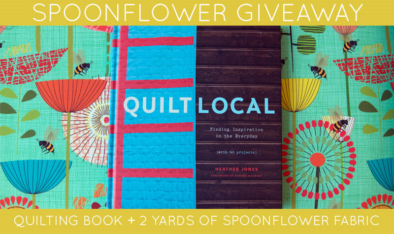 Win a copy of Quilt Local!