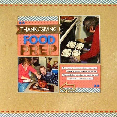 Thanksgiving Food Prep - Sue Althouse