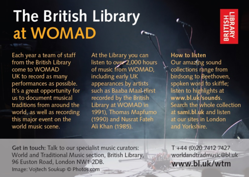 Womad advert